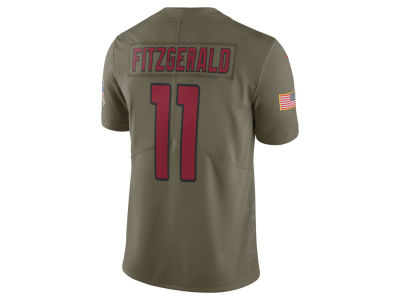 Arizona Cardinals Larry Fitzgerald Nike 2017 NFL Men's Salute To Service Jersey