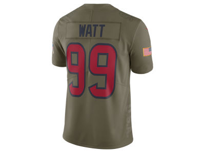 Houston Texans J. J. Watt Nike 2017 NFL Men's Salute To Service Jersey