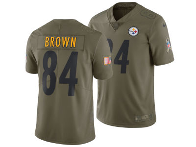 Pittsburgh Steelers Antonio Brown Nike 2017 NFL Men's Salute To Service Jersey