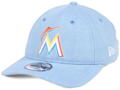 Miami Marlins New Era MLB X Levi Collection 9TWENTY Snapback Cap