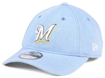 Milwaukee Brewers New Era MLB X Levi Collection 9TWENTY Snapback Cap