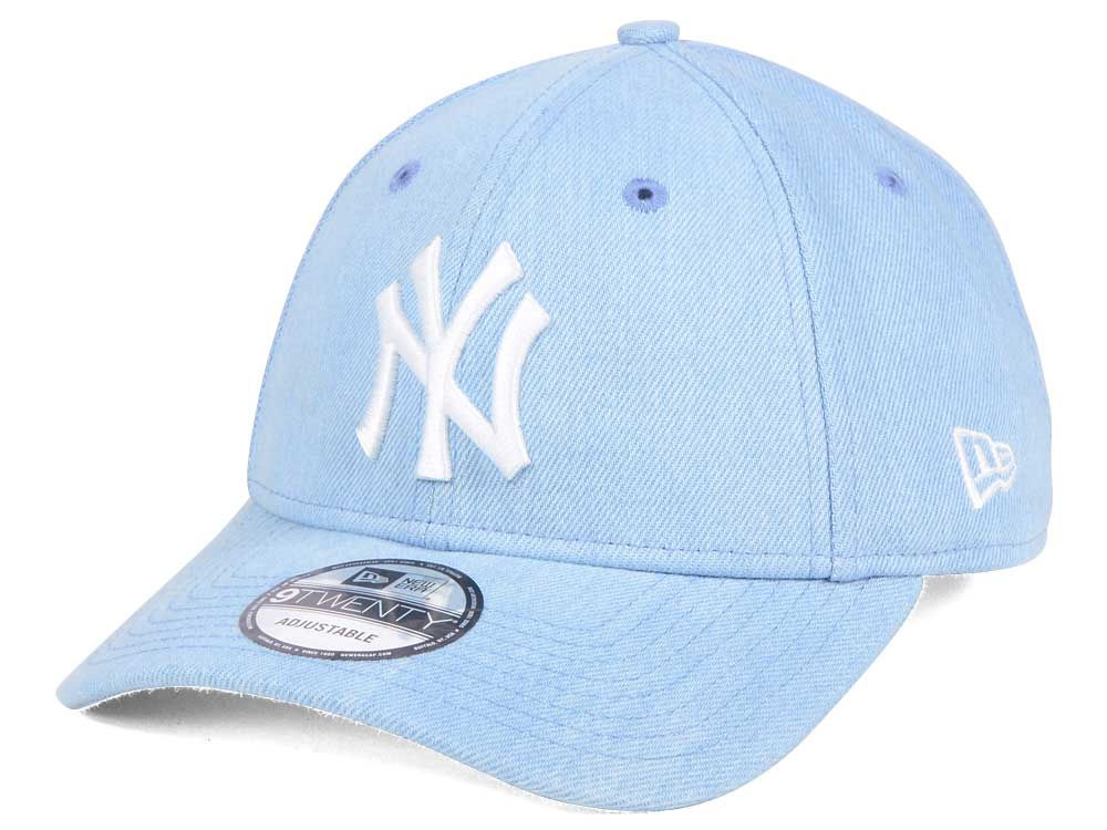 New York Yankees New Era MLB X Levi Collection 9TWENTY Snapback Cap ... 077690f758b
