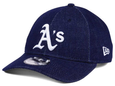 Oakland Athletics New Era MLB X Levi Collection 9TWENTY Snapback Cap
