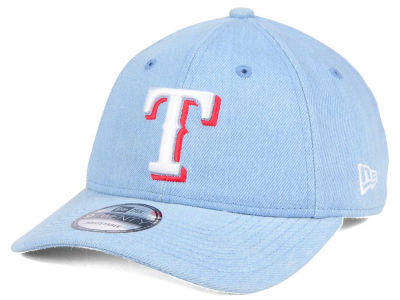 Texas Rangers New Era MLB X Levi Collection 9TWENTY Snapback Cap