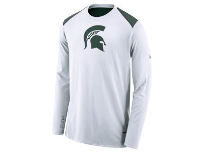 Michigan State Spartans Nike NCAA Men's Basketball Long Sleeve Shooter T-Shirt
