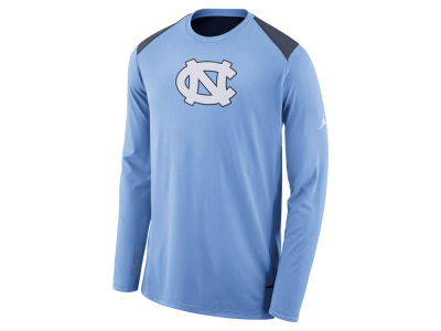 North Carolina Tar Heels Nike NCAA Men's Basketball Long Sleeve Shooter T-Shirt