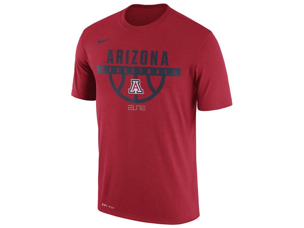 3805a1ed00ea Arizona Wildcats Nike NCAA Men s Basketball Legend T-Shirt