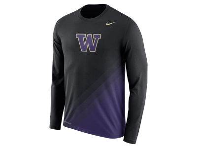 Washington Huskies Nike 2017 NCAA Men's Legend Sideline Long Sleeve T-Shirt