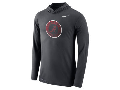Alabama Crimson Tide Nike NCAA Men's Dri-Blend Hooded Long Sleeve T-Shirt