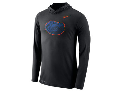 Florida Gators Nike NCAA Men's Dri-Blend Hooded Long Sleeve T-Shirt