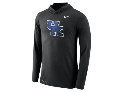 Kentucky Wildcats Nike NCAA Men's Dri-Blend Hooded Long Sleeve T-Shirt
