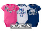 Indianapolis Colts NFL Newborn Girls 3Pk Bodysuit Infant Apparel