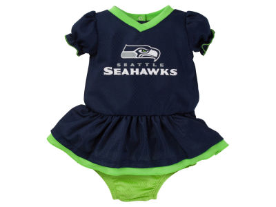 Seattle Seahawks Gerber NFL Newborn Girls Dazzle Dress
