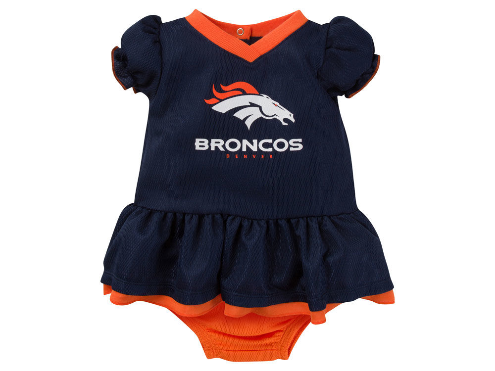 Denver Broncos Gerber NFL Newborn Girls Dazzle Dress  67843a28b