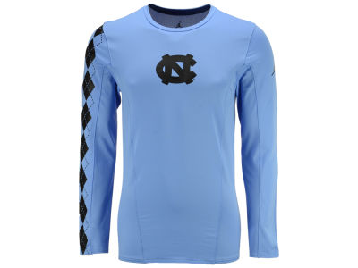 North Carolina Tar Heels Jordan NCAA Men's Phil Knight Long Sleeve Shooter Shirt