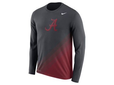 Alabama Crimson Tide Nike 2017 NCAA Men's Legend Sideline Long Sleeve T-Shirt