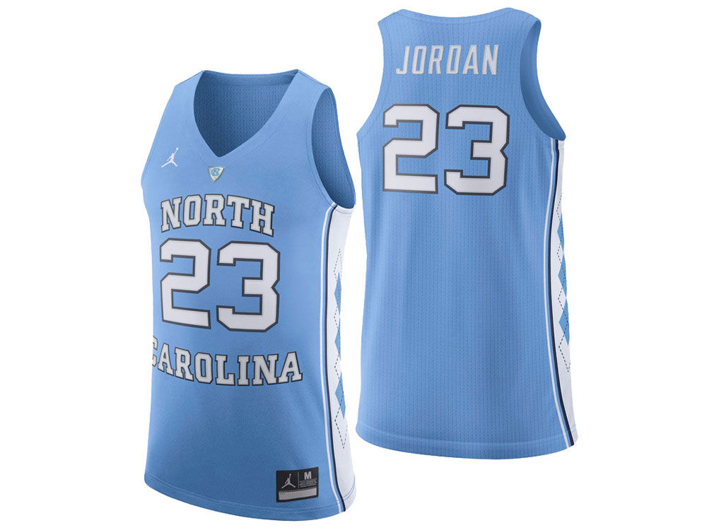 North Carolina Tar Heels Michael Jordan Jordan NCAA Authentic Basketball  Jersey 5741d99cb