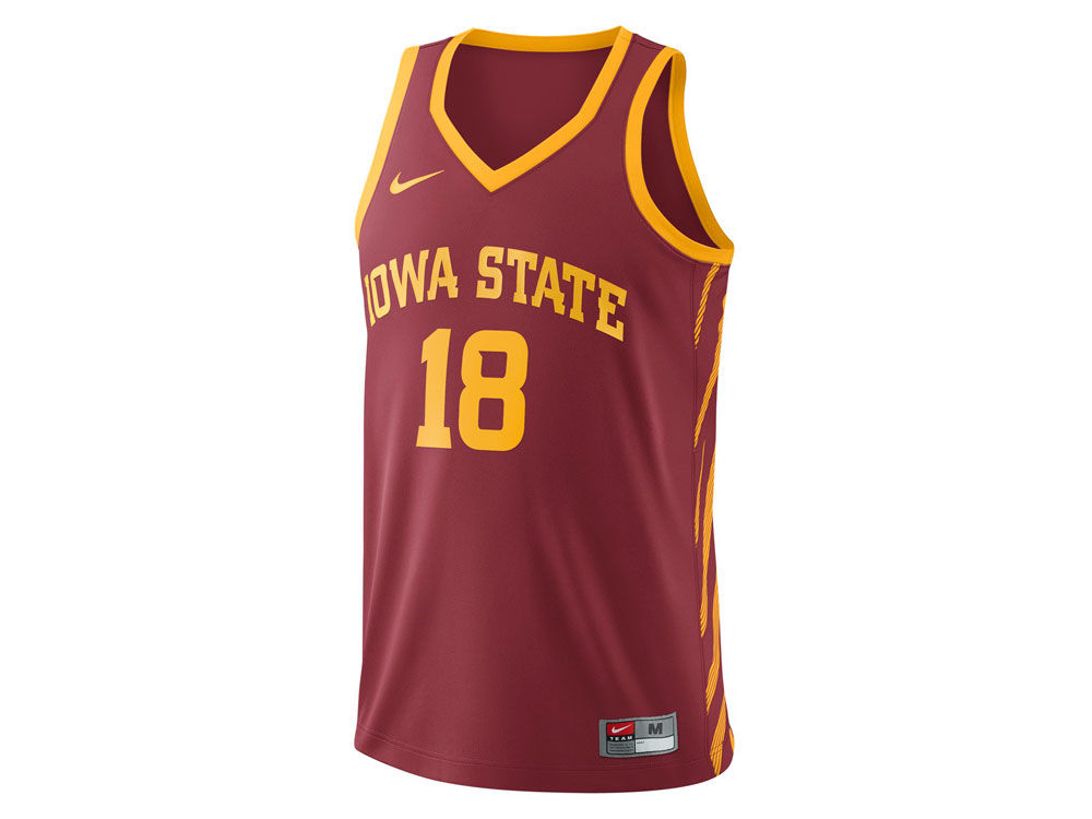 Iowa State Cyclones Nike 2017 NCAA Men s Replica Basketball Jersey ... f819b9aec291