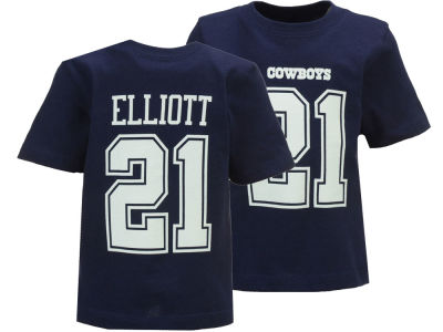 Dallas Cowboys Ezekiel Elliott DCM NFL Infant Eligible Player Name and Number T-Shirt