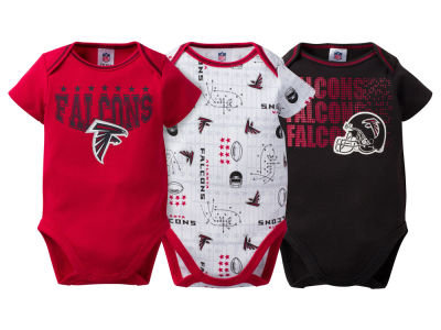 Atlanta Falcons NFL Newborn 3Pk Bodysuit
