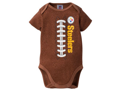 Pittsburgh Steelers Gerber NFL Newborn Football Print Bodysuit