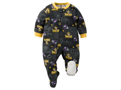 Minnesota Vikings Gerber NFL Newborn Blanket Sleeper