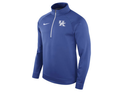 Kentucky Wildcats Nike NCAA Men's Hypercolor Logo Quarter Zip Pullover