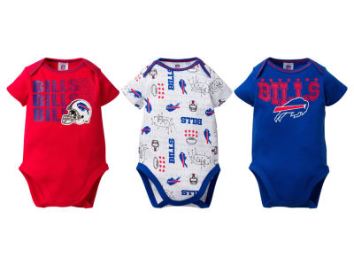 Buffalo Bills NFL Infant 3Pk Bodysuit