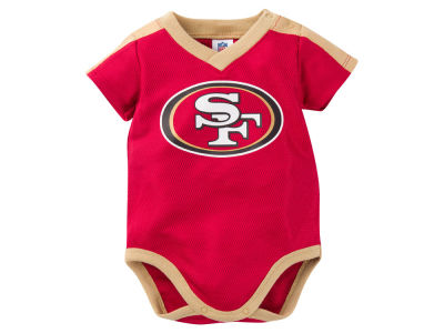 San Francisco 49ers NFL Infant Dazzle Mesh Bodysuit