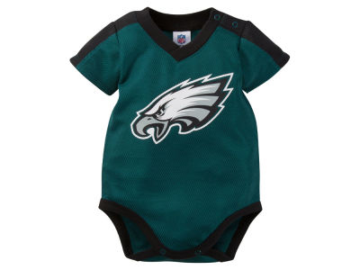 Philadelphia Eagles NFL Infant Dazzle Mesh Bodysuit