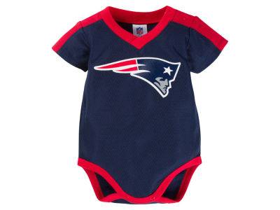 New England Patriots Gerber NFL Infant Dazzle Mesh Bodysuit