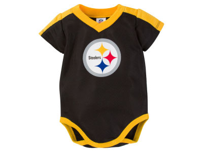 Pittsburgh Steelers Gerber NFL Infant Dazzle Mesh Bodysuit