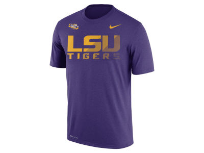 LSU Tigers Nike NCAA Men's Sideline Legend T-Shirt