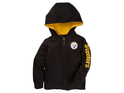 Pittsburgh Steelers Outerstuff NFL Toddler Zip Up Hoodie