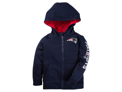 New England Patriots Outerstuff NFL Toddler Zip Up Hoodie