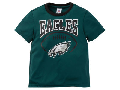 Philadelphia Eagles Outerstuff NFL Toddler Poly Football T-Shirt