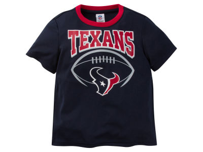 Houston Texans NFL Toddler Poly Football T-Shirt
