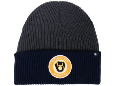 Milwaukee Brewers '47 MLB Ice Block Cuff Knit