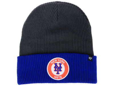 New York Mets '47 MLB Ice Block Cuff Knit