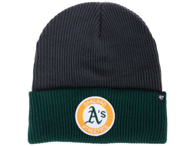 Oakland Athletics '47 MLB Ice Block Cuff Knit