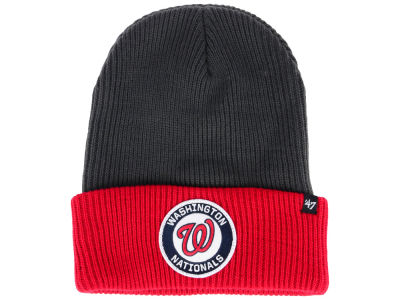 Washington Nationals '47 MLB Ice Block Cuff Knit