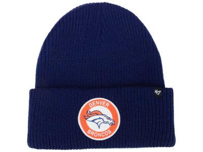 Denver Broncos  47 NFL Ice Block Cuff Knit 1ae0c853f112