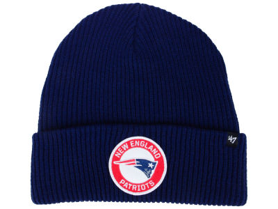 New England Patriots '47 NFL Ice Block Cuff Knit