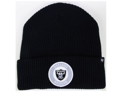 Oakland Raiders '47 NFL Ice Block Cuff Knit