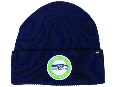 Seattle Seahawks '47 NFL Ice Block Cuff Knit