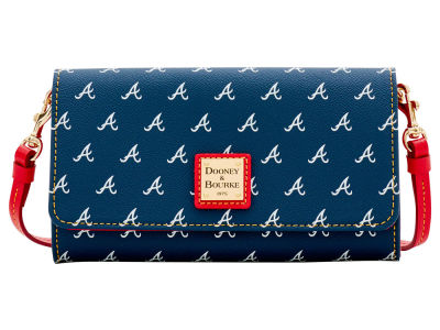 Atlanta Braves Dooney & Bourke Daphne Crossbody Wallet