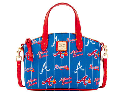 Atlanta Braves Dooney & Bourke Nylon Ruby Mini Satchel XBody
