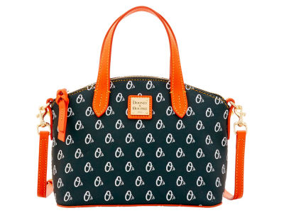 Baltimore Orioles Dooney & Bourke Ruby Mini Satchel Crossbody