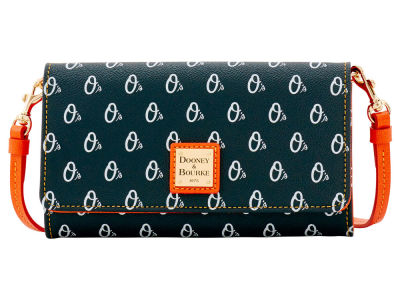 Baltimore Orioles Dooney & Bourke Daphne Crossbody Wallet