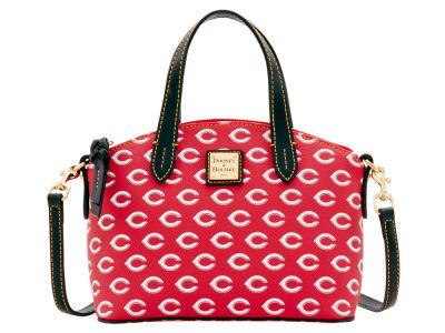 Cincinnati Reds Dooney & Bourke Ruby Mini Satchel Crossbody